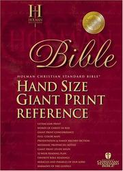 Cover of: Holman Christian Standard Bible |