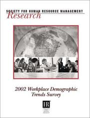 Cover of: 2002 Workplace Demographic Trends Survey