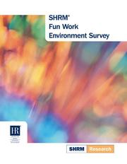 Cover of: Fun Work Environment Survey (Shrm Research) | Society for Human Resource Management