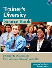 Cover of: Trainer's Diversity Source Book. Book & CD-ROM