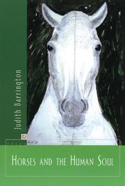 Cover of: Horses and the human soul