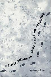 Cover of: A Little Wildness