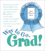 Cover of: Way to go, grad!