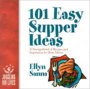 Cover of: 101 easy supper ideas