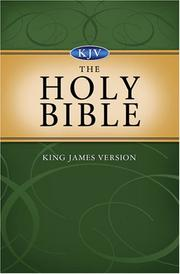 Cover of: Holy Bible KJV | Barbour and Company Staff