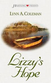 Cover of: Lizzy's hope