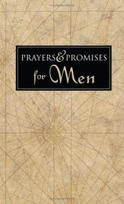 Cover of: PRAYERS AND PROMISES FOR MEN