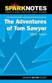 Cover of: Spark Notes Tom Sawyer | Mark Twain