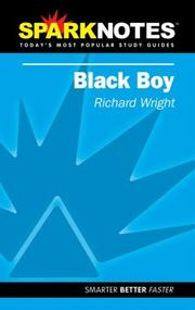 Cover of: Spark Notes Black Boy | Richard Wright