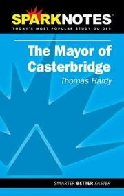 Cover of: Spark Notes Mayor of Casterbridge |