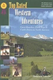 Cover of: Top rated Western adventures | Maurice Valerio