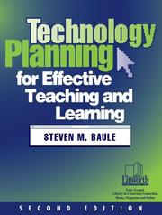 Cover of: Technology planning for effective teaching and learning