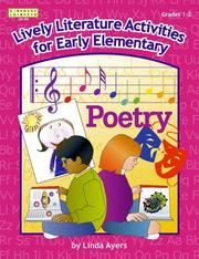 Cover of: Lively literature activities for pre-K through kindergarten! | Linda Ayers