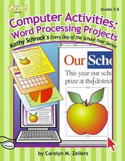 Cover of: Computer Activities | Carolyn M. Zellers