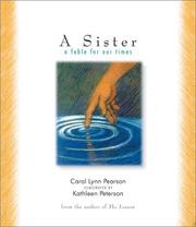 Cover of: A sister:  a fable for our times