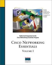 Cover of: Cisco networking essentials