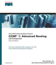 CCNP 1 by Cisco Systems Inc.