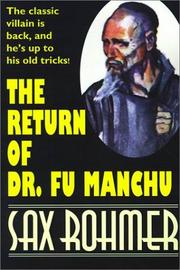 Cover of: The Return of Dr. Fu Manchu (Wildside Suspense)