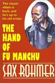 Cover of: The Hand of Fu Manchu (Wildside Suspense)