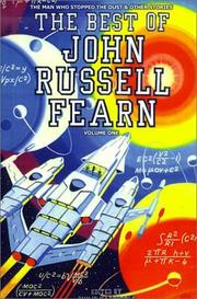 Cover of: The Best of John Russell Fearn: Volume One
