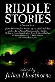 Cover of: Riddle Stories