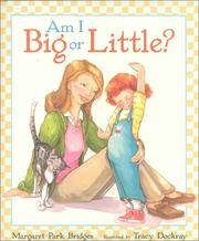 Cover of: Am I big or little?