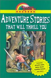Cover of: Adventure stories that will thrill you. |