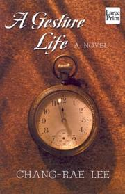 Cover of: A gesture life