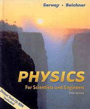 Cover of: Physics for Scientists and Engineers, Chapters 1-39 (with Student Tools CD-ROM)