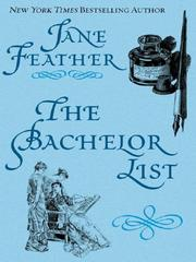 Cover of: The bachelor list
