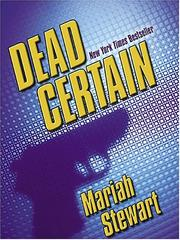Cover of: Dead certain