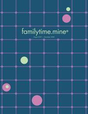 Cover of: Familytime.mine Blue Grid 2008 Calendar | Edward and Cole Inc