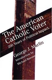 Cover of: The American Catholic voter