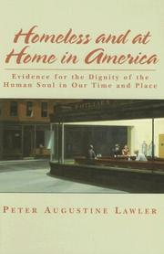 Cover of: Homeless and at home in America