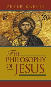 Cover of: The philosophy of Jesus