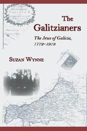Cover of: The Galitzianers | Suzan, F. Wynne