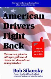 Cover of: American Drivers Fight Back | Bob Sikorsky
