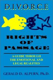 Cover of: Divorce Rights of Passage