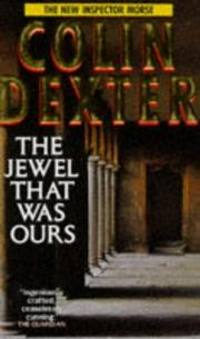 Cover of: The Jewel That Was Ours (Inspector Morse)