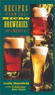 Cover of: Recipes from the Microbreweries of America