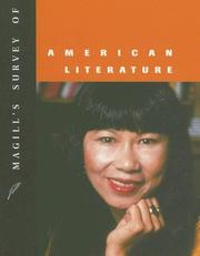 Cover of: Magill's Survey of American Literature, Volume 6