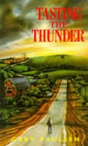 Cover of: Tasting the Thunder