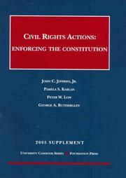 Cover of: Civil Rights Actions | John C., Jr. Jeffries
