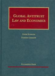 Cover of: Global Antitrust Law and Economics | Einer R. Elhauge
