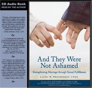Cover of: And They Were Not Ashamed | Laura M. Brotherson