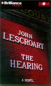 Cover of: Hearing, The (Dismas Hardy) |