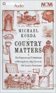 Cover of: Country Matters