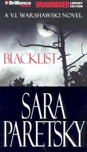 Cover of: Blacklist (V. I. Warshawski)