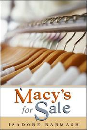 Cover of: Macy's for sale