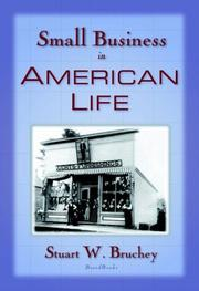 Cover of: Small business in American life